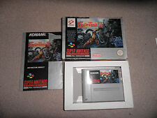 SUPER NINTENDO, SNES-SUPER CASTLEVANIA 4 IV - 100% BOXED
