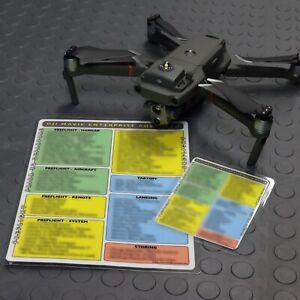 Preflight Safety Checklists for DJI Mavic 2 Enterprise Advanced - FAA Approved