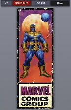 Topps Marvel Collect Digital  Corner Box Week 3 Thanos CC 796