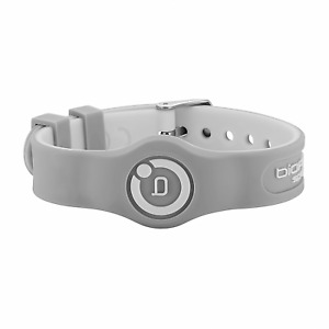 Bioflow Sport Flex Magnetic Therapy Wristband Grey/White - From Bioflow Direct