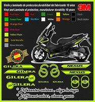 SET12 stickers-pegatinas-Decal-autocollants-adesivi GILERA NEXUS 125-250-300-500