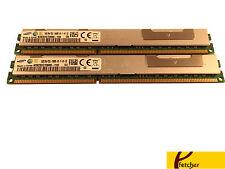 32GB (2 x 16GB) PC3-10600 VLP RDIMM Memory IBM HS22 7870 HS22V 7871 HS23 7875