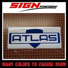 Atlas Gun Manufacturer Sticker / Vinyl / Decal Borderlands logo