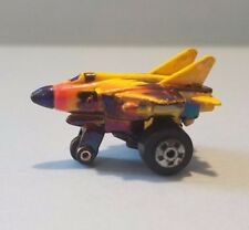 Vintage Mini Road Champs Flying Jet Plane 1988 Nice