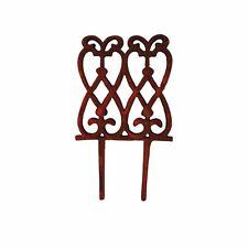 *Beetzaun /Einfassung Beetumrandung Wegkante Blumenkastengitter Metall Guss  PS7