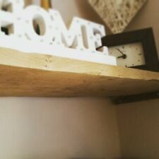 Solid oak rustic shelf.  **Free Next Working Day Delivery If Ordered By 12pm **