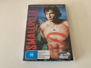 Smallville: The Complete First Season 6-Disc DVD Set 2006 Region 4 GC