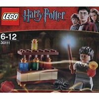 Lego HARRY POTTER 30111 polybag Lab  potions spider + mini figure alchemy stand