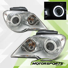 [CCFL Halo] 2007 2008 Chrysler Pacifica HID Model Chrome Projector Headlights