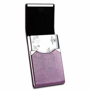 Padike Professional Business Card Holder Pu Leather Business Card Case Name Card
