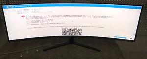 "Acer 49"" Curved DFHD VA Monitor AMD Radeon FreeSync2 144Hz VESA Display 4K"