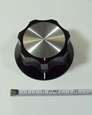 "Dentron Amplifier & Tuner Main Tuning Knob W/2"" Skirt"