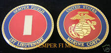 1ST LIEUTENANT US MARINES LT O-2 CHALLENGE COIN USS PROMOTION GIFT OFFICER USMC