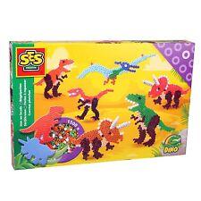 SES 06125 midi Bügelperlen Set DINOS Dinosaurier Kleine Geschenkpackung