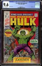 Incredible Hulk Annual # 2 CGC 9.6 Off-White (Marvel, 1969) Herb Trimpe cover