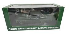 GMP Peachstate #8021 1969 Chevrolet Nova SS396 Green 1:18 Diecast 1 of 3996 NEW