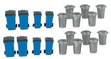 gauge H0 - Trash Cans 20 Piece - 4127 Neu