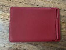 Genuine Apple iPad Pro 10.5 / 2019 Air 3 Leather Sleeve Product RED