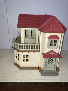 Calico Critters Red Roof Country Home Play Set Epoch Sylvanian Families Charming