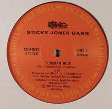 """STICKY JONES GANG: Tunisian Ride / Frankfort o - 12"""" VINYL"""
