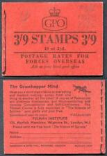 G21 3/9 Booklet Aug 57 only 39600 printed