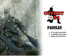 TOYrrific Covert-Ops Paddles x 2 for Navy Seal Force Boat Raft (Zodiac) 1/6