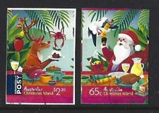 AUSTRALIA 2019 CHRISTMAS ISLAND CHRISTMAS SELF ADHESIVE FINE USED