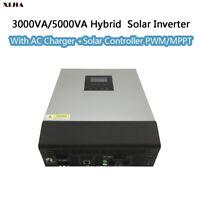 3KVA/5KVA hybrid solar inverter MPPT/PWM solar controller Multifunction off grid