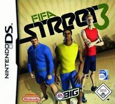 Nintendo DS 3ds fifa street 3 fútbol * Deutsch * impecable