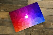 Sticker skin pour MacBook Pro Air - Colors 3D - Fabriqué en France