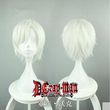New Anime D.Gray-man Allen Walker Wig Cos Prop Heat Resisting