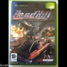 Road Kill GIOCO GAME XBOX PAL IT NO 360 come nuovo + manuale