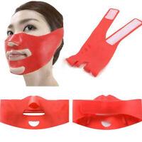 Lift Up Slimming Shaping Chin Band Strap Sleep Belt V-Line Face Cheek Mask 3D