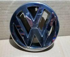 VW GOLF MK5 FRONT BUMPER BONNET GRILLE CHROME VW LOGO BADGE 1T0853601A 04  08
