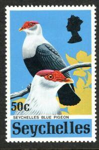 Seychelles 1972, Seychelles Blue pigeon, SG 310, mlh