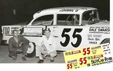 CD_718 #55 Johnny Beauchamp  George Short's  1955 Chevy  1:64 scale decals