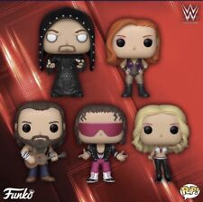 Funko Pop Wwe Set Of 5 Elias Becky Trish Hitman & Undertaker In Hand Free Ship