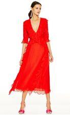 Talulah La Maison - Sweet Sugar Midi Dress (Red, XL)