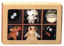 Studio Ghibli Collection Set Ball Chain 6 Mascot Height 9cm From Japan