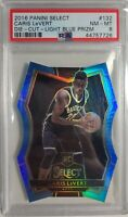 2016-17 Caris LeVert PSA 8 Panini Select Blue Die-Cut RC/199 Pacers Low Pop 🔥🔥