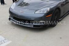 C6 Corvette Zr1 Style Fiberglass Front Splitter / Spoiler (Base Only)