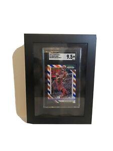 UV Blocking Trading Card Display Frame for BGS/PSA/SGC Graded Card - Black Foam