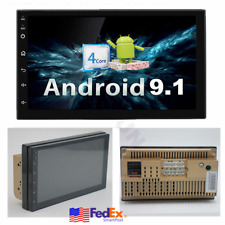 """7"""" 2Din Android 9.1 Car Stereo Radio GPS Navi Wifi Touch Screen MP5 Quad-Core US"""