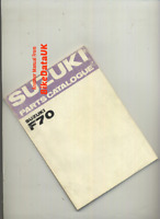 Suzuki F70 (69-73) Factory Parts List Catalogue Book Manual F 70 Super-Free BS45