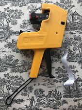 Duodeli Mx5500 8 Digits Price Tag Gun Labeler Yellow Pricemarker Labels Included