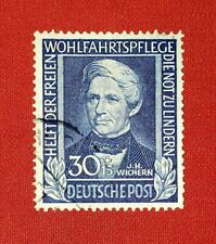 {GERMANY< Semi-Postal< Scott # B313< USED SINGLE< F-VF< NO THINS< CV $100.00!}