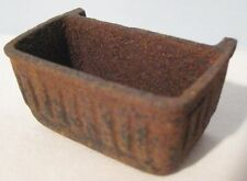 Old Antique Cast Iron Bucket Part for Construction or Farm Truck