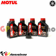 TAGLIANDO OLIO + FILTRO MOTUL 7100 10W30 YAMAHA 1000 GTS ABS 2000