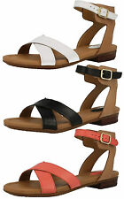Clarks Ankle Straps Block Shoes for Women