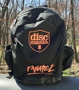 Disc Golf - DISCMANIA FANATIC 2 Backpack Bag - Black/Orange